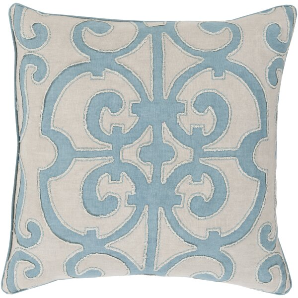 Damascus 100% Linen Throw Pillow Cover by Darby Home Co